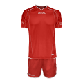 Alcor voetbal tenue rood
